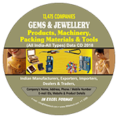 Gems & Jewellery Products & Machinery Data