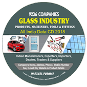 Glass Industry - Products Machinery Data