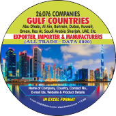 Gulf Countries Exporters & Importers Data