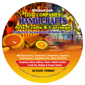 Handicrafts Arts, Crafts & Carvings Data