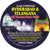 16,638  Hyderabad & Telangana   (All Trades) Data - In Excel Format