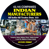 43,145 Indian Manufacturers (All Trades) Data - In Excel Format