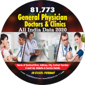 81,773 General Physician, Doctors& Clinics Data - In Excel Format