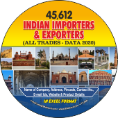 Indian Exporters &  Importers (All Trades) Data