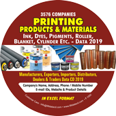 3,576 Printing Products &  Materials Data - In Excel Format
