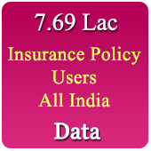 7,69,244 Insurance Policy Holders (All India) Data - In Excel Format