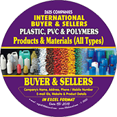 2,625 International Buyers & Sellers  of Plastic & PVC - In Excel Format