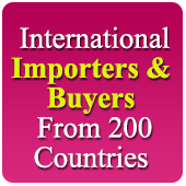 40,787 International Importer And Buyers From 200 Countries (All Trades - All Products) Data - In Excel Format