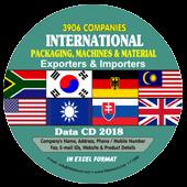 3,906 International Packaging  Machines Data - In Excel Format