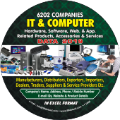 6, 202 IT & Computer Hardware & Software Data - In Excel Format