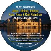10,093 Jaipur, Udaipur, Jodhpur, Kota  & Rajasthan Data - In Excel Format