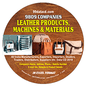 Leather Products, Machines  & Materials Data