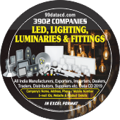 3,902 LED, Lighting, Luminaries  & Fittings Data - In Excel Format