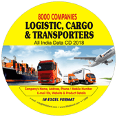 Logistic, Cargo &  Transporters (All India) Data
