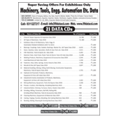Machinery, Tools, Engg. Automation 21 Data Combos