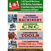 Machinery, Tools & Automation Data (4 in 1 ) Combo