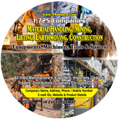 Material Handling, Mining  Lifting, Earthmoving