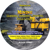 1,428 Mining Machinery, Equipments  Products Data - In Excel Format