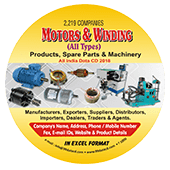 Motors & Winding Products & Spare Parts Data