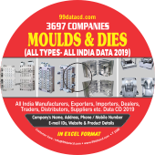 3,697 Moulds & Dies - All Types (All India) Data - In Excel Format