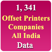 OFFSET Printers All India - Data 2019