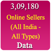 3.09 Lacs Online Sellers (All India - All Types) Data - In Excel Format