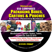 Packaging Boxes, Cartons & Pouches (All Types) Products & Materials