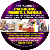 Packaging Products & Materials Data