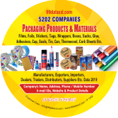 5,202 Packaging Products & Materials Data - In Excel Format