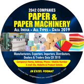 2,042 Paper & Paper Machinery  (All India) Data - In Excel Format