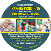 Paper Products Materials & Machinery Data