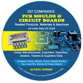 PCB Moulds &  Circuit Boards (All India) Data