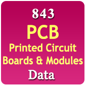 337 PCB Moulds & Circuit Boards Products Data - In Excel Format