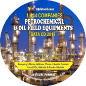 1,444 Petrochemical & Oil Field Equipment Data - In Excel Format