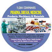 Pharma, Drugs, Medicine Products Data