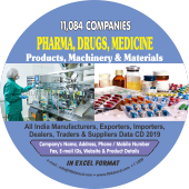 11,084 Pharma, Drugs, Medicine Products Data - In Excel Format
