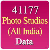 16, 861 Photo Studios (All India) Data - In Excel Format