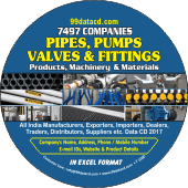 Pipes, Pumps, Valves  & Fittings Data