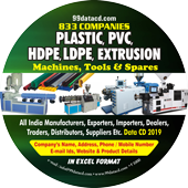 Plastic Extrusion Machines (All Types) Data