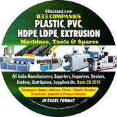 Plastic Extrusion Machines (All Types) Data