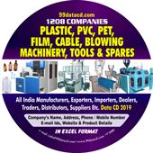 Plastic, PVC, PET, FILM, CABLE, BLOWING MACHINE DATA 2019