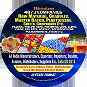 Plastic, PVC, PP, HDPE,  Polymers, LDPE Etc
