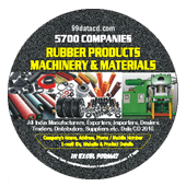 Rubber Products, Machinery  & Materials Data