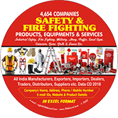 Safety & Fire Fighting Products Data
