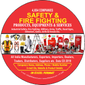 4,654 Safety & Fire Fighting Products Data - In Excel Format