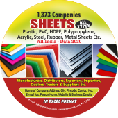 1,373 Sheets All Types (All India) Data - In Excel Format