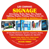 Signage ProductsMachinery & Materials Data