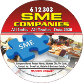 6,12,303 SME Companies All India - All Trades Data - In Excel Format