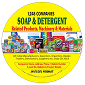 Soap & Detergent Products & Materials Data
