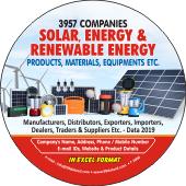 3,957  Solar, Energy & Renewable Energy Data - In Excel Format